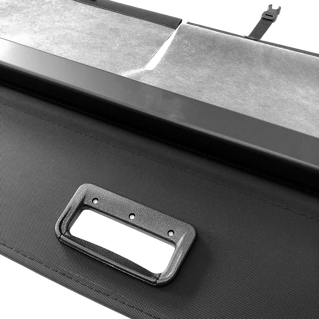 OREALTOOL /Étag/ère Arri/ère R/étractable De Coffre pour Toyota RAV4 2013-2018 Noir Housse Colis Cargo Coque Cache-Bagages Couverture De Cargaison De Coffre