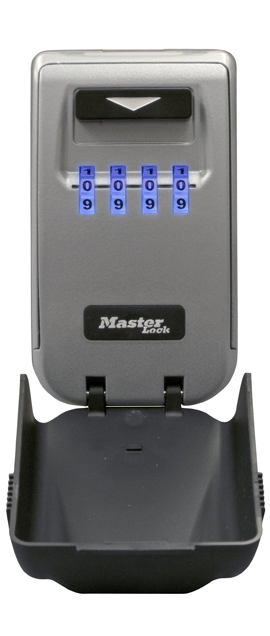 MASTER LOCK Boite à clés sécurisée rétroéclairée  Medium   Murale  -  5425EURD - Select Access - Partagez vos clés en toute sécurité fe385518e22