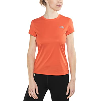 The North Face Reaxion Amp Crew - T-shirt course à pied Femme - orange 2017 tshirt sport