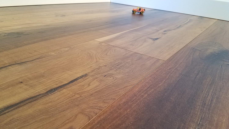 Turtle Bay Floors Exotic Burlwood Laminate Flooring 8mm Park Forest Sample