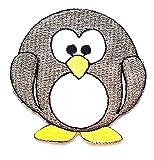 Nipitshop Patches Gray Penguin Fat Aquatic Bird