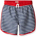 Hatley Boys' Big Swim Shorts, Nautical Stripes, 7