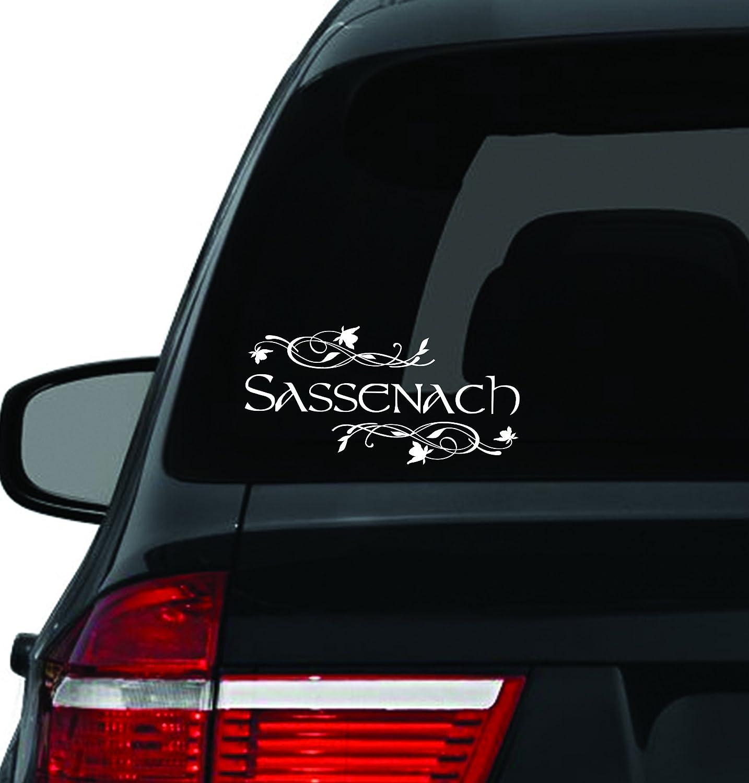 Amazoncom Custom Window Car Decal Sassenach Vinyl Sassenach - Unique car decals