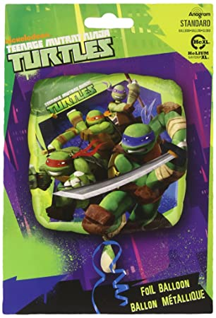 Amscan - Globos Tortugas Ninja (2642901): Amazon.es ...