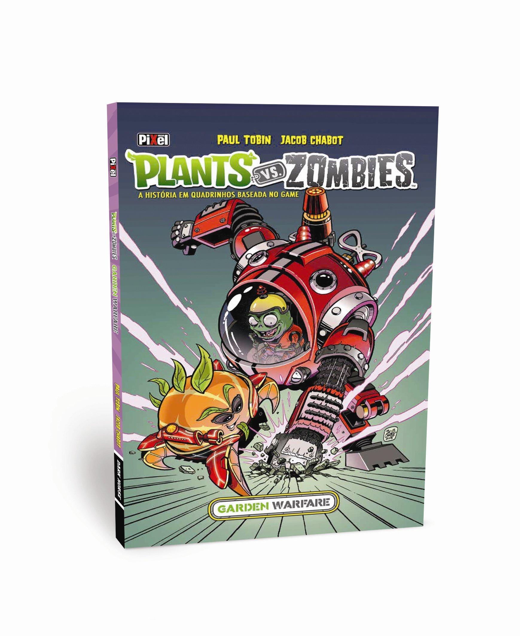Read Online Plants vs. Zombies. Garden Warfare. A História em Quadrinhos Baseada no Game (Em Portuguese do Brasil) pdf