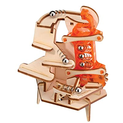 Marbleocity Triple Play 4 bar Link Marble Machine Kit: Toys & Games