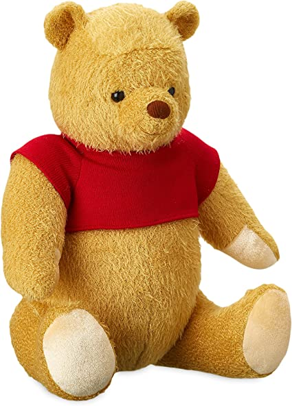 Amazon Com Disney Winnie The Pooh Plush Christopher Robin