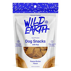 Wild Earth - Clean Protein Dog Treats with superfood Koji - as seen on Shark Tank
