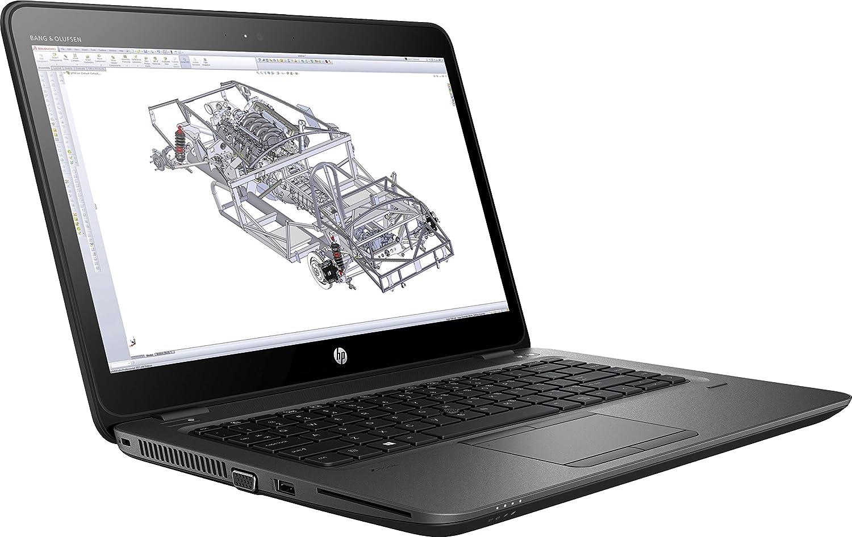 "HP ZBook 14U G4 14"" Mobile Workstation - Intel Core i7-7500U (7th Gen) Dual-Core 2.70 GHz - 8 GB DDR4 SDRAM - 256 GB SSD - Windo"