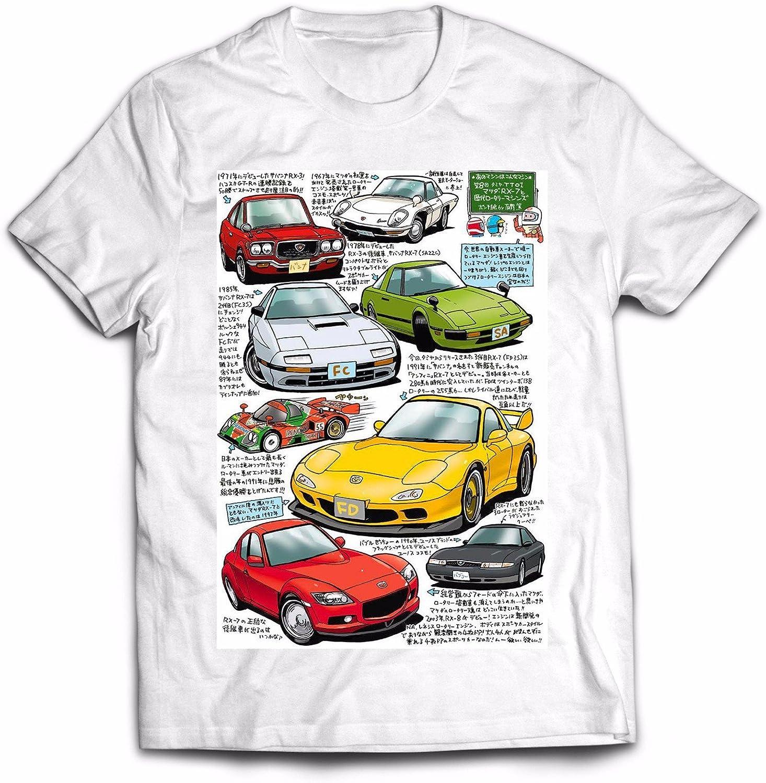 Mazda RX-8 Drive It Men`s Dark T-Shirt