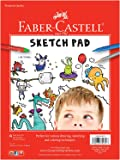 "Faber-Castell Sketch Pad - Pad of 45 Acid-Free Sheets (9"" x 12"")"