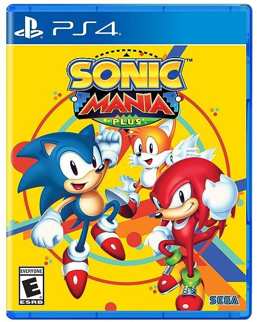 Sonic Mania Plus Playstation 4 Sega Of America Inc Video Games