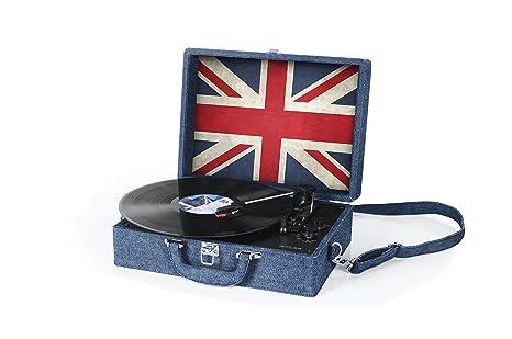 Muse MT-102JS tocadisco Azul, Rojo, Blanco - Tocadiscos (Azul ...