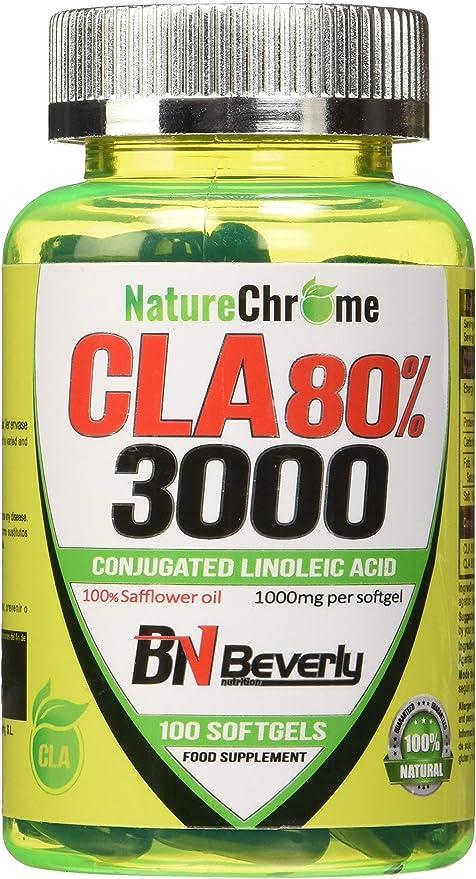 Beverly Nutrition CLA 80% - 100 Cápsulas: Amazon.es: Salud y ...