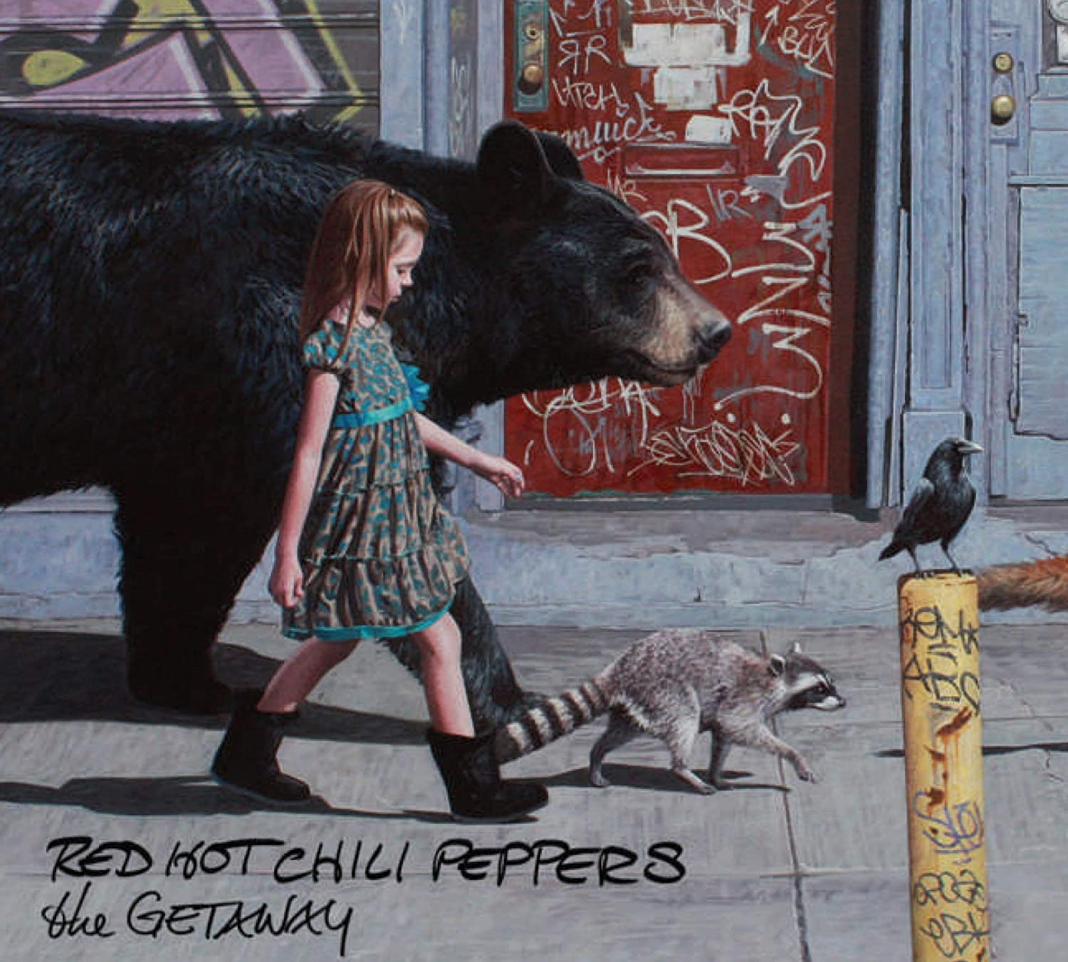 Risultato immagini per red hot chili peppers the getaway