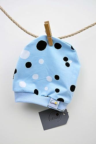 e42d5df6ee Beanie aus Bio-Baumwolle, für Frühchen 44 48 und kleine Babys, Mütze ...