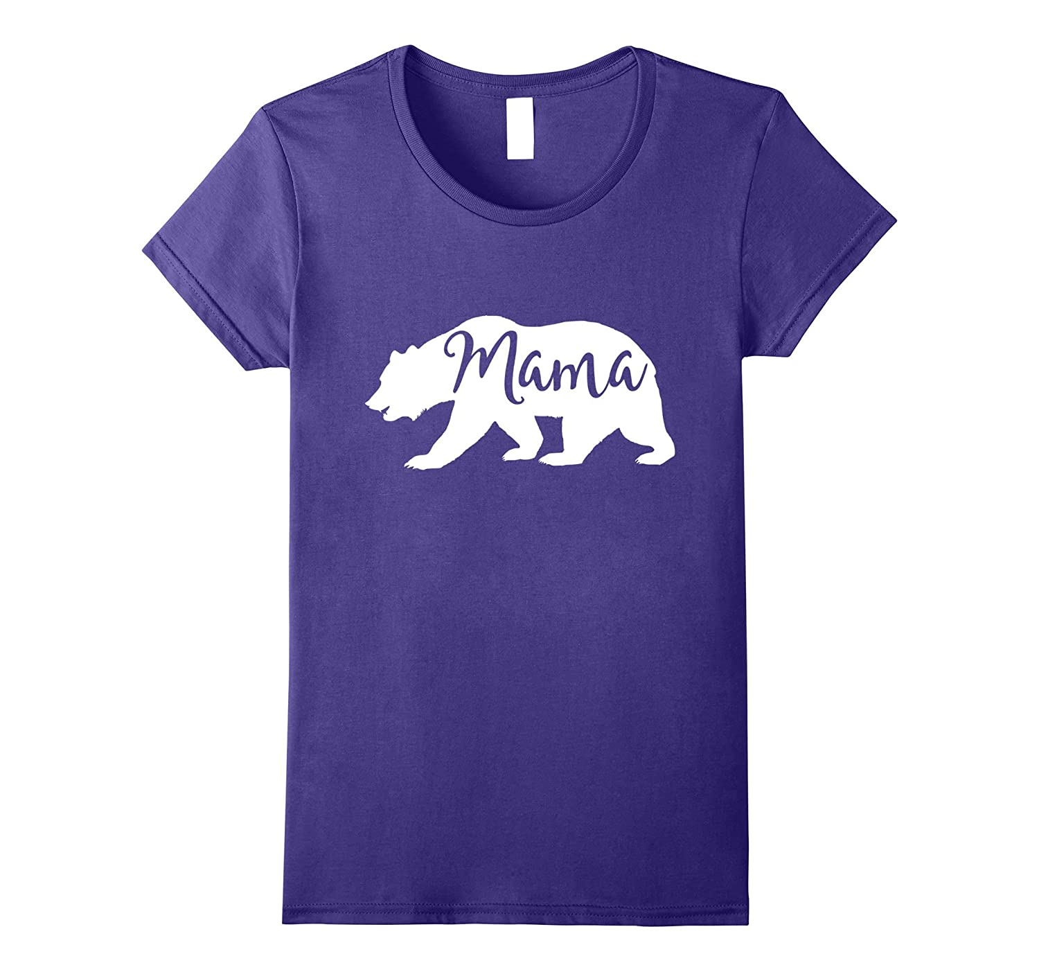 Womens Women's Mama Bear T-Shirt – Mom Shirt