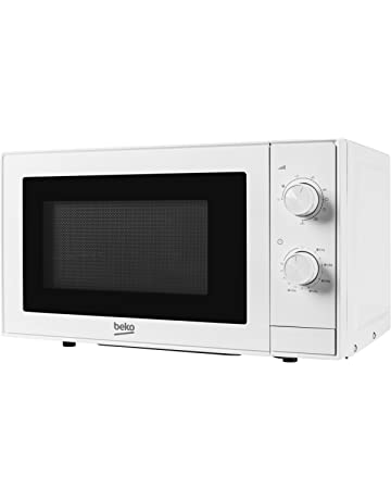 Beko MGC20100W Grill and Microwave, 20 Litre, 700 W, White, 18/8 Stainless Steel, 20 liters [Energy Class A]