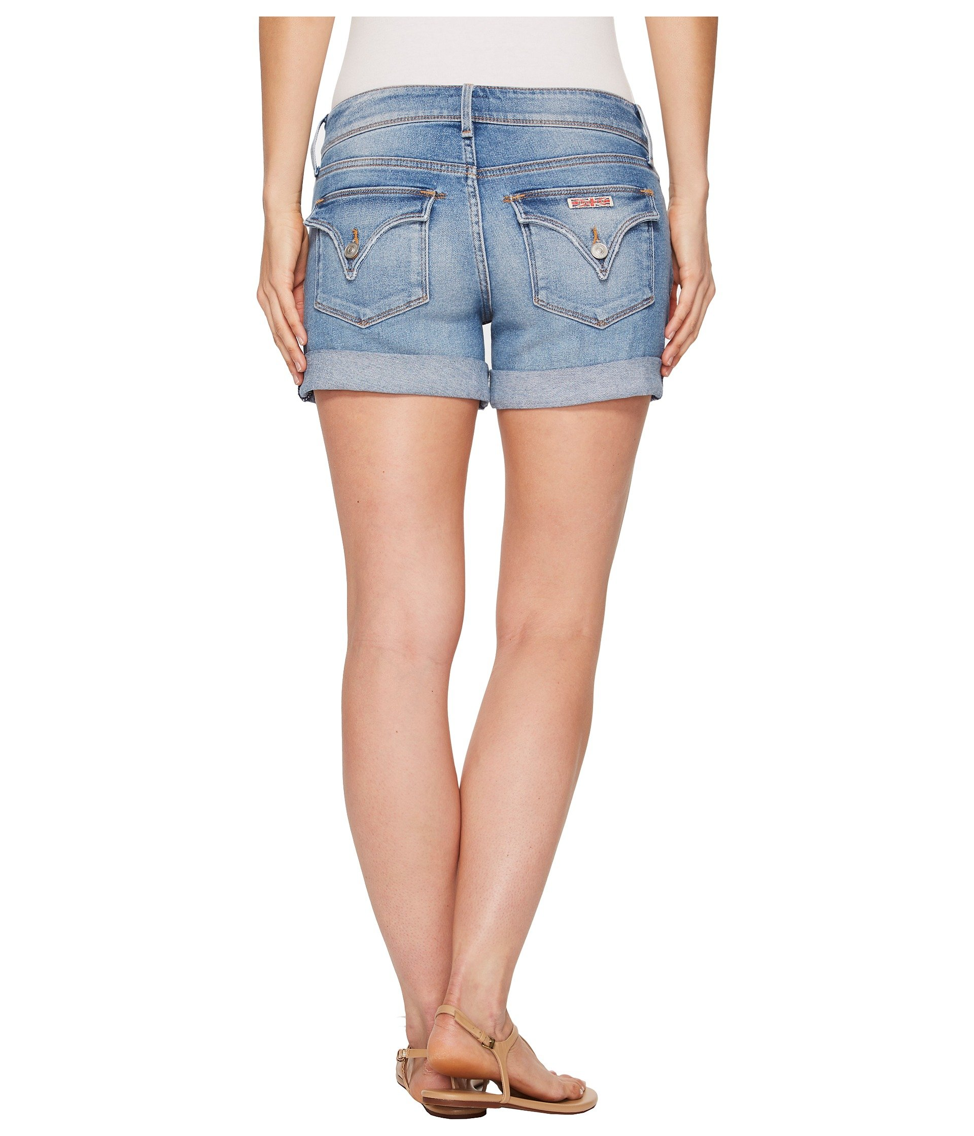Hudson Jeans Women's Croxley Mid Thigh Flap Pocket Short, Rolling Hills, 31 by Hudson Jeans (Image #4)
