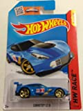 Hot Wheels, 2015 HW Race, Corvette C7.R [Blue] 155/250