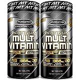 MuscleTech Platinum Multi Vitamin 90 Count (2 Pack)