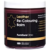 Furniture Clinic Leather Recoloring Balm - Leather Color Restorer for Furniture, Repair Leather Color on Faded…