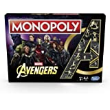 MARVEL AVENGERS - MONOPOLY - Collector's Edition - Inc Iron Man, Captain America, Hulk, Thor,  Endgame, Infinity War & More - 2 to 6 Players - Board Games - Ages 8+