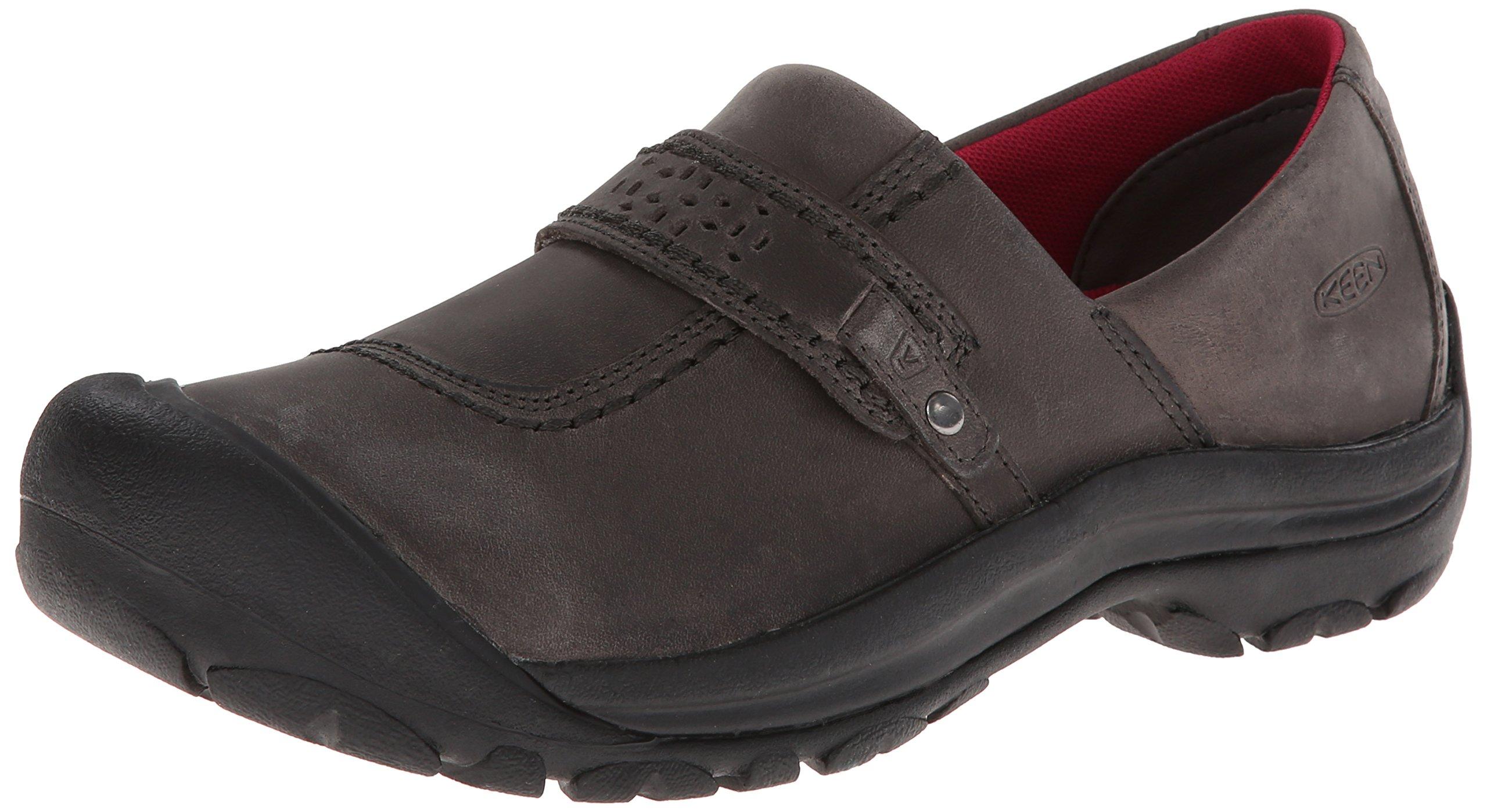 KEEN Women's Kaci Full Grain Slip-On Shoe,Magnet,6 M US