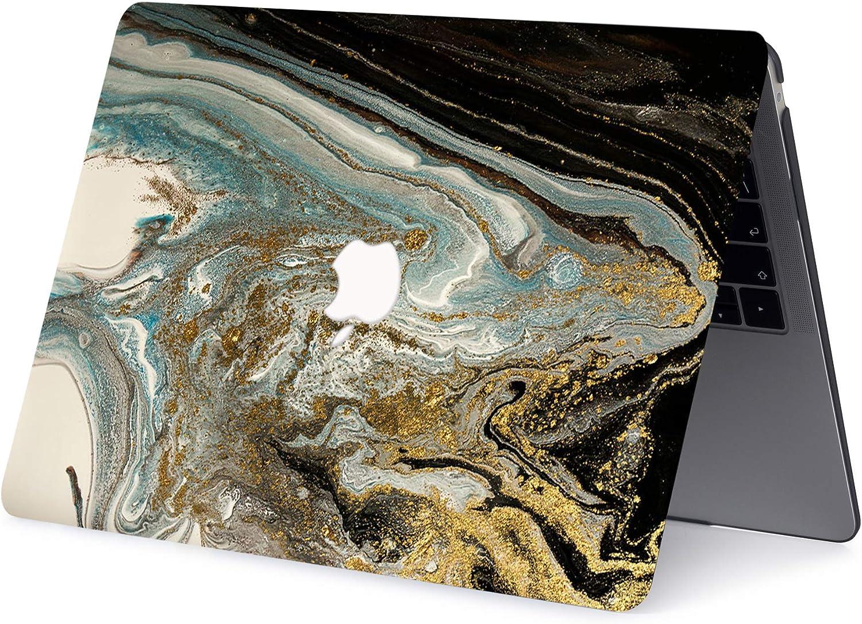 Farbiger Marmor AJYX H/ülle f/ür MacBook Pro 13 Zoll 2020 2019 2018 2017 2016 Release A2289 A2251 A2159 A1989 A1706 A1708 Plastik Schutzh/ülle /& Tastaturschutz f/ür MacBook Pro 13