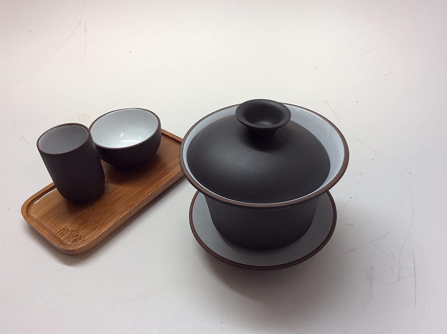 Gaiwan with Tasting Cups by Music City Tea