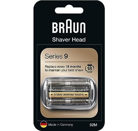 Braun Series 9 92B Cabezal de Recambio para Afeitadora Eléctrica ...