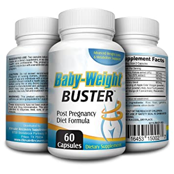 Baby Weight Buster Post Pregnancy Weight Loss Supplement Pills Vitamins Complex
