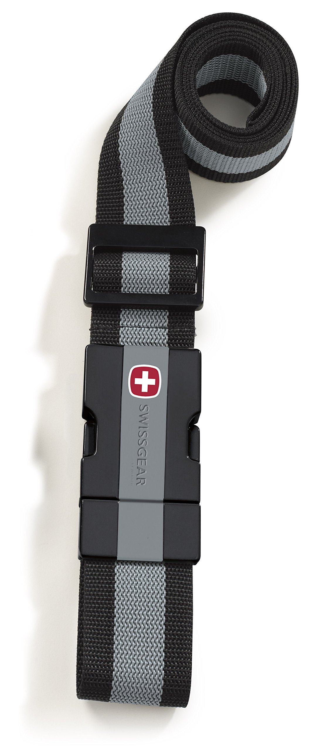 SwissGear Adjustable Luggage Strap with Snap-Lock Buckle - Fits Bags up to 72-Inches