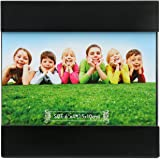 @home Regular Black Bands MDF Photo Frame