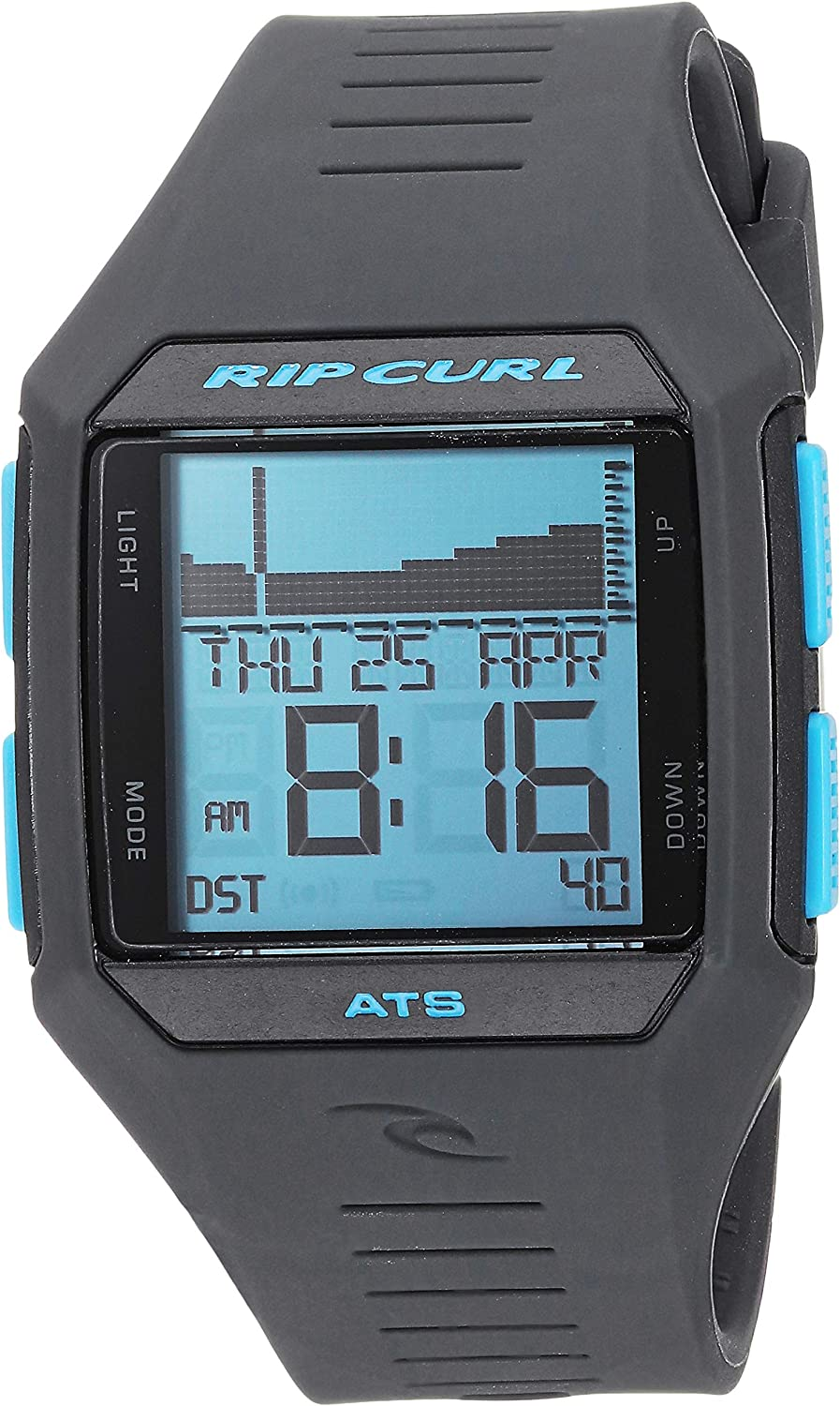 Rip Curl Men's Quartz Sport Watch with Polyurethane Strap, Blue, 22.8 (Model: A1124BLT1SZ)