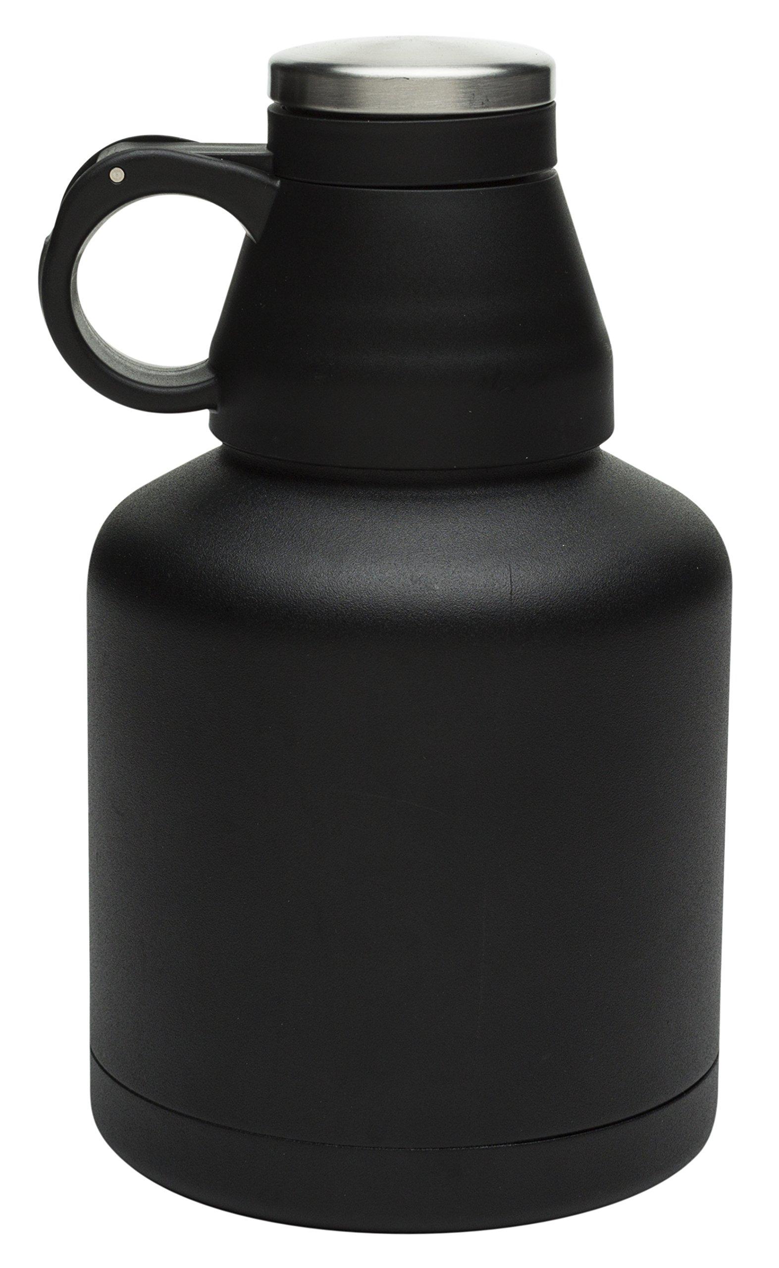 Zak Designs Planet Zak 32 oz. Insulated Beer Growler, Black