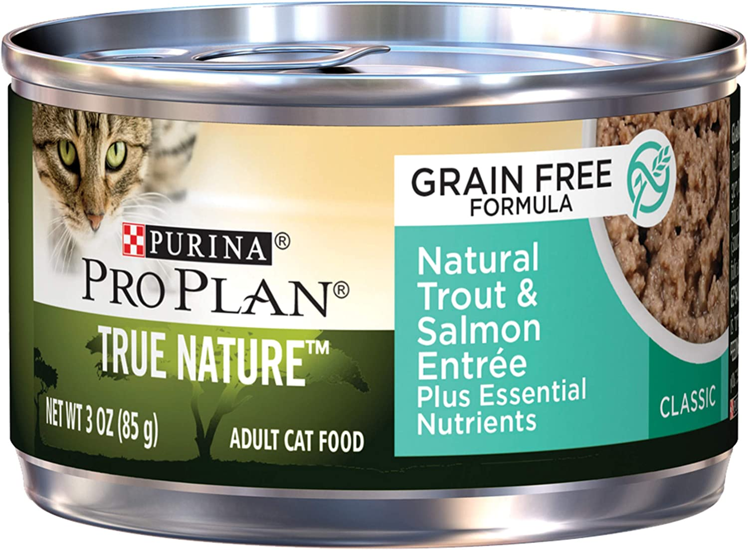 Purina Pro Plan TRUE NATURE Natural Adult Canned Wet Cat Food