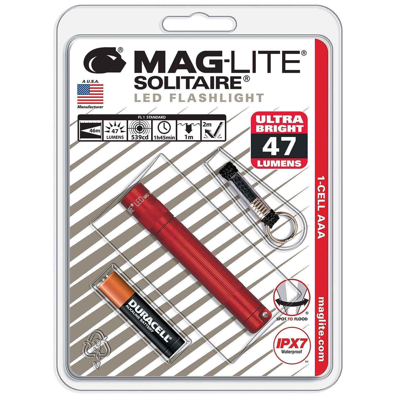 Linterna Maglite Led 1-cell Aaa Flashlight Roja