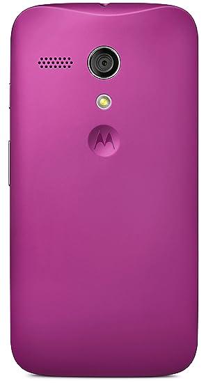 Motorola Clip-On Shell - Carcasa trasera para móvil Motorola Moto G de 4.5