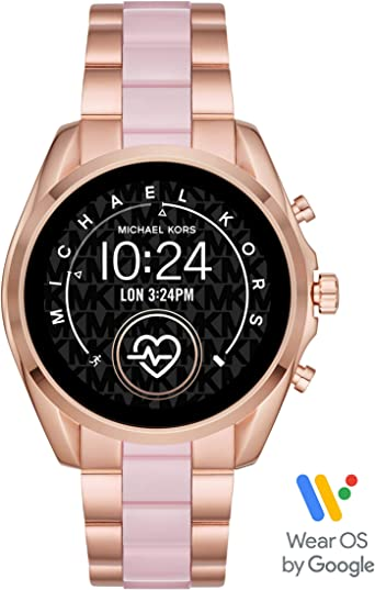 Michael Kors Access Gen 5 Bradshaw Smartwatch Powered with Wear OS by Google with Speaker, Heart Rate, GPS, NFC, and Smartphone Notifications.