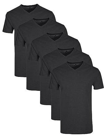Lower East Herren T-Shirt mit V-Ausschnitt, 5er Pack  Amazon.de  Bekleidung 7e4650daa0