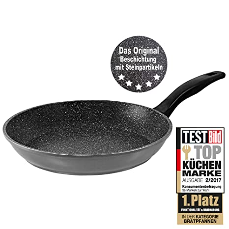 Amazon Com Stoneline Frying Pan 24 Cm Gray Kitchen Dining