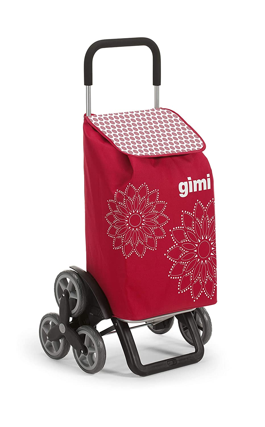 Gimi Tris Shopping trolley Red