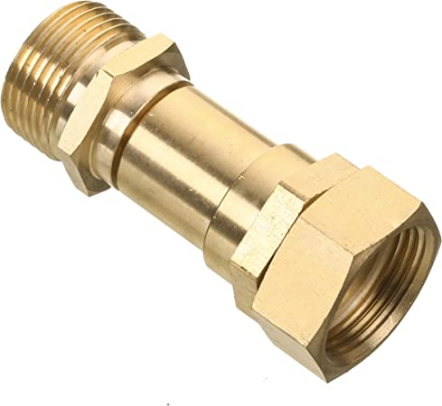 Pressure Washer Swivels Brass Hose Coupling Connector Tool 22mm M to 14mm M