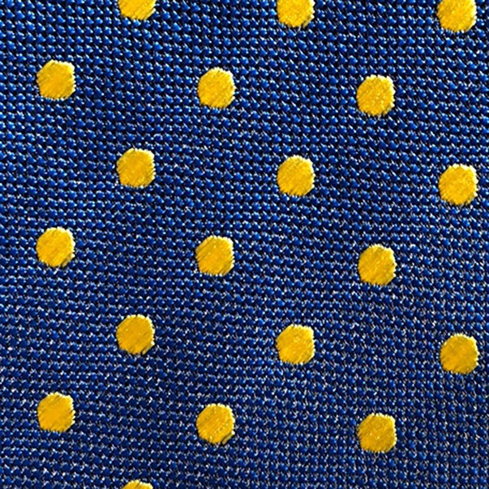 Corbata seda hombre azul topos: Amazon.es: Ropa y accesorios