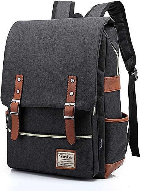 Amazon.com: Slim Laptop Backpack for Women, Fashion Travel Rucksack College School Bookbag: Computers & Accessories