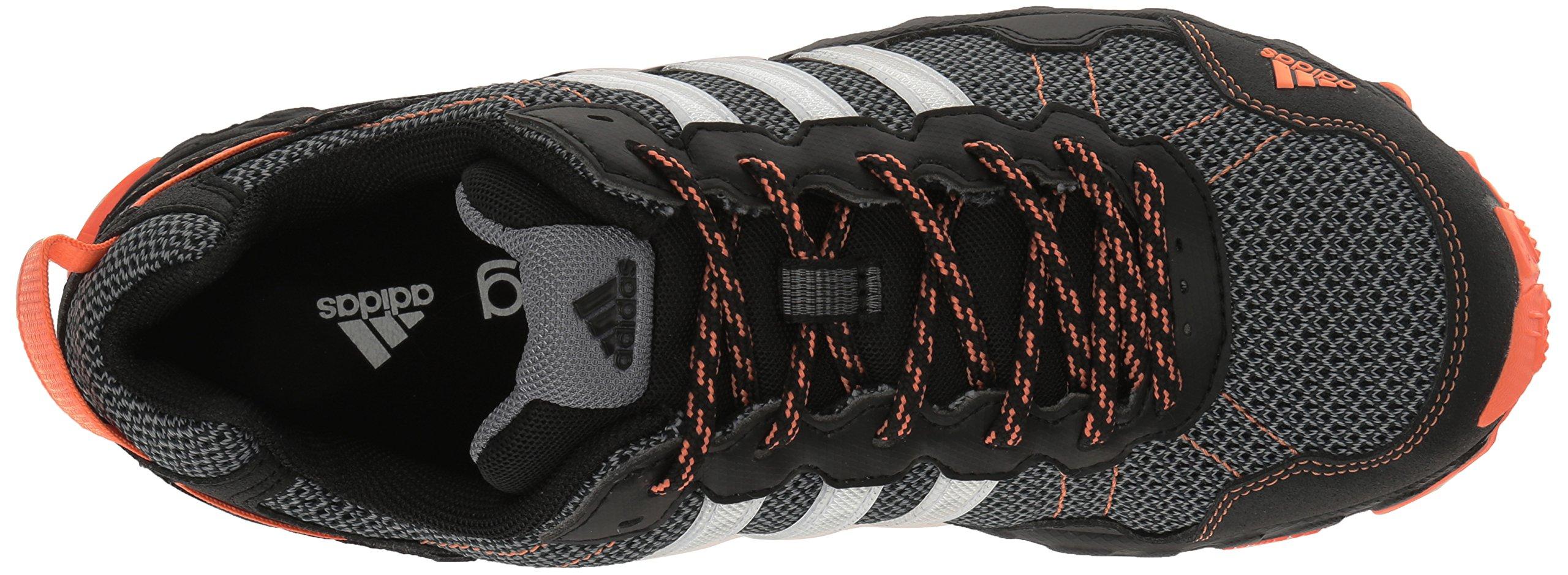 adidas Women's Rockadia Trail W Running Shoe Black/White/Easy Orange 6 M US by adidas (Image #8)