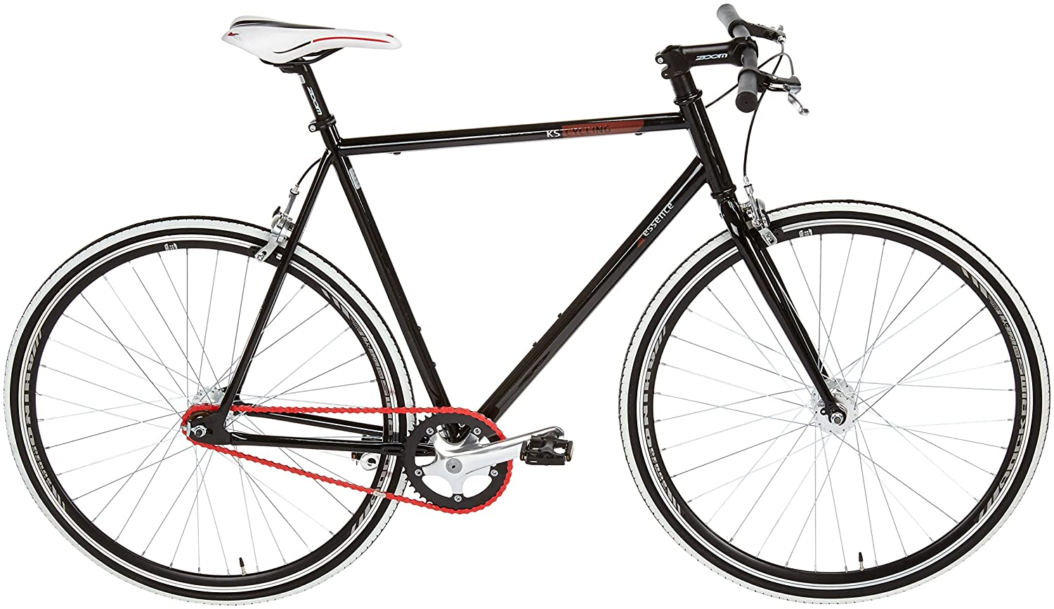 Fitness Bike 28 Essence Fixed Gear Single Speed 56 Cm Ks Cycling