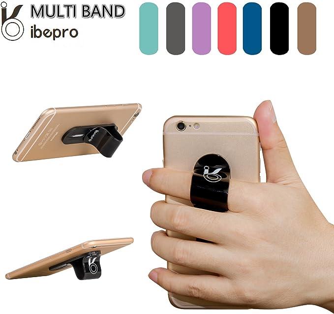 Ibepro teléfono celular agarre seguro universal correa de mano ...