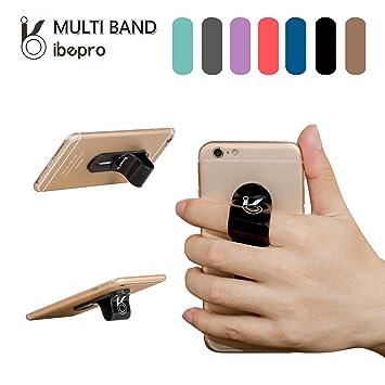 Ibepro® - Soporte para dedo para teléfono, agarre seguro, dedo antideslizante